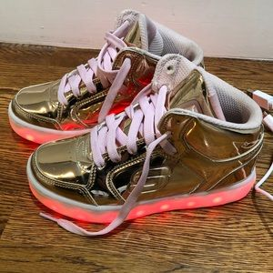 Skechers Energy Lights Rose Gold sneakers